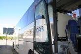 Se reanuda la línea de autobuses Cieza-Murcia, con servicios mínimos de momento