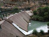 Hoy se ha inaugurado la nueva pasarela de la presa de La Mulata, en el canón de Almadenes
