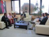 El consejero de Fomento se reúne con la alcaldesa de Molina de Segura
