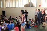 105 niños comienzan en Alcantarilla sus actividades en la Escuela de Verano, en su primera quincena de julio