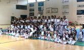 El Club Taekwondo Totana clausura temporada con una exhibici�n de sus m�s de 80 alumnos en el Pabell�n de Deportes Manolo Ib�ñez