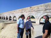 Cultura destina casi 100.000 euros a restaurar el Acueducto de los Arcos de Alcantarilla