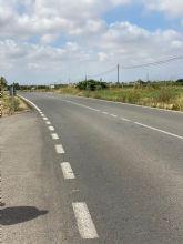El Ayuntamiento solicita el ensanche de la carretera RM F22 entre Torre Pacheco y Balsicas