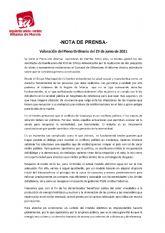 Valoraci�n del Pleno Ordinario del 29 de junio de 2021. IU-verdes Alhama de Murcia