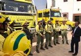 La Comunidad refuerza los medios de las brigadas forestales con ocho nuevos vehículos