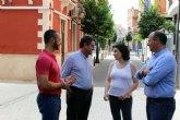 Fomento y Ayuntamiento de Alcantarilla impulsan la declaración de un área de regeneración urbana del municipio