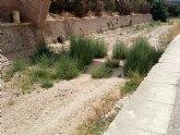 El PP denuncia el estado de suciedad en el que se encuentra la zona de Las Oller�as y la Rambla de La Santa a su paso por el lugar