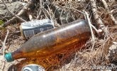 El abandono de residuos aumenta el riesgo de incendios forestales