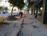 IU solicita mayores medidas de seguridad en las obras de la Alameda de Cervantes