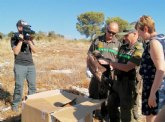 Medio Ambiente libera a un águila real que se electrocutó tras un periodo de recuperación de más de tres meses