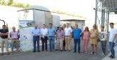 La depuradora de Alguazas proporciona a los regantes de la zona más de 1,2 hectómetros cúbicos de agua regenerada