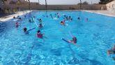 La Concejalía de Deportes, finaliza la Campaña de cursos de natación con la participación de 550 niños.