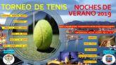 Entregados los trofeos del campeonato de tenis dobles  'noches de verano 2019'