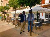 Desarrollo Urbano estudia la remodelación de la plaza de San Juan con hosteleros y vecinos
