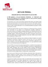 Valoraci�n del Pleno Ordinario del 27 de julio de 2021. IU-verdes Alhama de Murcia