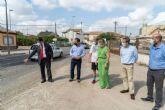 La carretera de El Albujón mejorará su seguridad gracias a una inversión de 180.000 euros
