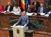 Marcos Ortuño: 'Exigimos al Gobierno socialista que cumpla sus compromisos con la Región de Murcia'