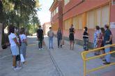 Entrega de material de protección contra el coronavirus al colegio Alcolea Lacal de Archena