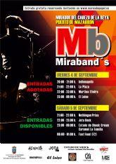 Agotadas las invitaciones del viernes para el festival de grupos locales 'Miraband's'