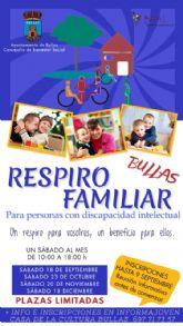 El Ayuntamiento de Bullas pone en marcha 'Respiro familiar' para la conciliación de personas con discapacidad intelectual