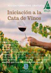 Un curso gratuito en el centro social de La Florida para iniciarse en la cata de vinos