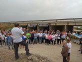 Diego Conesa visita a la Plataforma de Afectados por las Inundaciones de 2012