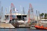 19 barcos compiten en Valencia por el campeonato de España 29er - Trofeo Eliwell