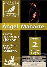 Ángel Manarre en Murcia Flamenca