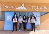 La Fundación de Trabajadores ElPozo dota de un desfibrilador al colegio Azaraque de Alhama