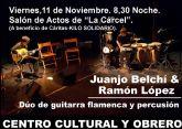 FLAMENCO DÚO, próximo concierto enmarcado en el ciclo Música de Otoño