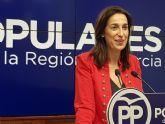 Nuria Fuentes: 'Los Presupuestos del PP supondrán menos impuestos, más inversiones y mejores servicios para el millón y medio de murcianos'