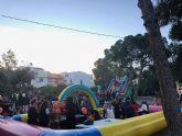 Decenas de niños y niñas disfrutan de la  Fiesta Halloween en la Casa del Cura
