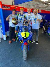 Fermín Aldeguer se proclama campeón de Europa STK 600 de Moto2 con solo 15 años