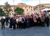 Viaje a Lorca de los usuarios del centro de día de personas mayores
