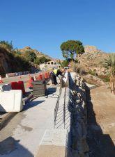 Mejoran la seguridad de la carretera regional que se encuentra en las inmediaciones del Salto de la Novia de Ojós