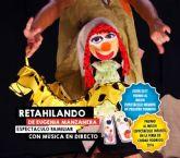 La Compañía Eugenia Manzanera representa el espectáculo de teatro infantil RETAHILANDO el sábado en la sala B del Teatro Villa de Molina