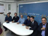Reunión Junta Directiva del PP de Cieza.