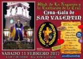 La Hermandad de la Negación organiza una Cena-gala de San Valentin, que tendrá lugar el próximo 11 de febrero