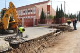 El Ayuntamiento y la Comunidad realizan obras de renovación en la calle San Javier