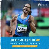 Mohamed Katir, candidato a Atleta del mes European Athletics