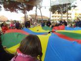 Roda inauguró los juegos en familia que organiza la  Escuela Municipal de Familia de San Javier