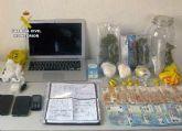 Un aviso por malos tratos acaba con la pareja detenida por tráfico de droga