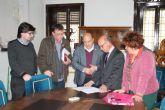 El alcalde recibe al consejero de Hacienda para tratar distintos aspectos del próximo Plan de Obras y Servicios