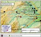 El 1-1-2 ha recibido 94 llamadas informando de movimientos sísmicos