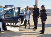El Ayuntamiento torreño dota con dos nuevos coches a la Policía Local