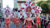Las calles de Lorquí se llenan de música y color en su desfile de Carnaval