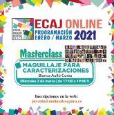 La Concejalía de Juventud de Molina de Segura organiza la masterclass Maquillaje para caracterizaciones el miércoles 3 de marzo