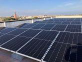 El Ayuntamiento pone en funcionamiento  placas fotovoltaicas para autoconsumo eléctrico en el edificio consistorial