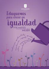 Las Torres de Cotillas conmemorará un 8 de marzo con un tono muy simbólico