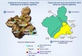 Activado el nivel 1 preventivo por contaminación de partículas en suspensión en el Valle de Escombreras